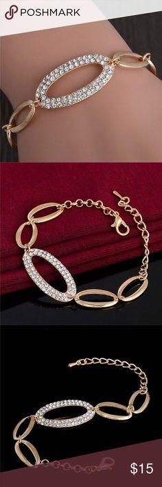 Shiny Bracelet Amazing Stylish Gold Plated Bracelet. SALE ‼️ no offers‼️ Jewelry Bracelets