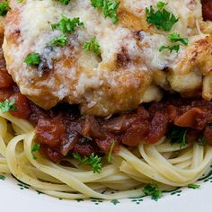 Chicken Parmigiana from Framed Cooks