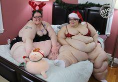 urnvr2big:  ssbbwlovefatgirl:  Qu'est que j'aimerais être entre les 2  That is one lucky mattress