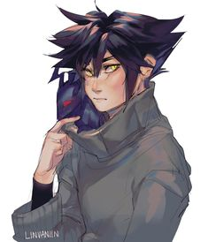 """""""late but wanted to draw vani in a sweater. Kingdom Hearts Characters, Kingdom Hearts Fanart, Kingdom Hearts Ii, Kingdom Hearts Heartless, Vanitas Kingdom Hearts, Young Justice Superboy, Vanitas Kh, Art Manga, D Gray Man"""