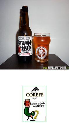 Découvrez la Coreff Dramm Hud sur notre site http://www.bieresbretonnes.fr/portfolio-item/coreff-dramm-hud/