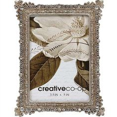 Pewter Photo Frame W/ Jewels Antique Silver Finish Elegant Country Christmas Holiday Decor Victorian Picture Frames, Victorian Pictures, Country Christmas, Christmas Holidays, Creative Co Op, Antique Farmhouse, Vintage Photos, Pewter, Antique Silver