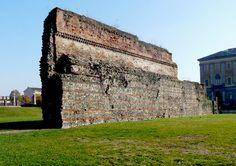 Testimonianza delle antiche mure romane