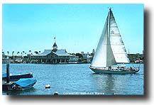 Cruise Newport Beach, CA:  NEWPORT HARBOR TOUR AND STAR'S HOMES:  The Balboa Pavilion and Newport Bay.  400 Main Street, Newport Beach, CA (949) 673-0240