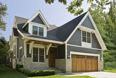 Custom Home Exterior - traditional - exterior - chicago - by Great Rooms Designers & Builders