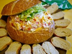 Scrumptious Chicken Club Bread Bowl Dip                                         Anything with the words in a bread bowl and I am sold!  This creative dip uses the classic flavors of a chicken club sandwich.  Mouthwatering, right?  This recipe was one of the runner-up winners in our 2010 Annual Contest.  After one bite, I can see why!  This also just happens to be perfect Game Day [...]