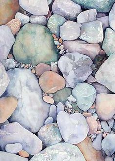 Pebbles and Stones multicolor | The Good Hacienda | curated by Hilary