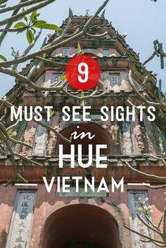 Hue Vietnam must see sights-pinterest