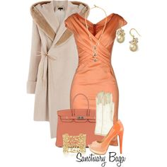 """Creamsicle"" by sanctuarybaga on Polyvore"