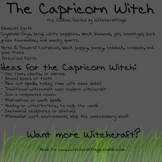The #Capricorn #Witch: Garden of Ash & Bone