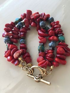 This gorgeous color really pops!!  I love it!  Dijobjewels