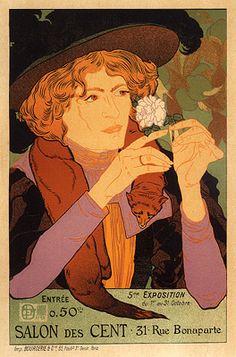 De Feure, Georges - PL. 10 - 5e Exposition du Salon des Cent