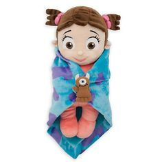 Disney's Babies Boo Plush Doll and Blanket - Monsters, Inc. - Small - 11''