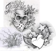 27 Best Gangster Tattoo Flash Designs Images Tattoo Ideas Chicano
