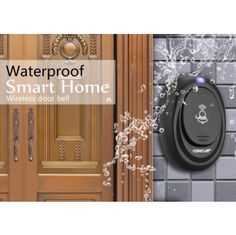 Eu Plug Led 100m Range Remote Control Digital Waterproof 220v Ac Wireless Doorbell Door Bell 36 Cord Music Tunes+23A 12V Battery http://mjhomeshopping.blogspot.com/2015/11/electrical-wall-switches-4.html