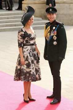 Earl and Countess of Wessex at the Luxemborg Royal Wedding