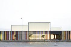 Escuela Infantil, Berriozar (Navarra) | Javier Larraz, Iñaki Bergera, Íñigo Beguiristain | 2012  + http://www.archdaily.com/321819/nursery-school-in-berriozar-javier-larraz-inigo-beguiristain-inaki-bergera  # Guardería
