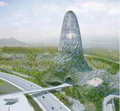 """""""Green Cell"""": Propuesta para el Museo de Taipei"""