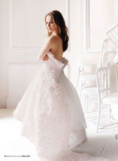 Natalie Portman for Christian Dior.Fromhttp://www.natalieportman.com/