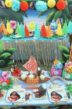 Moana Party Ideas | CatchMyParty.com