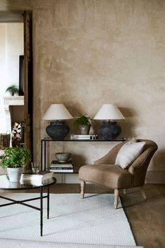 Home Inspiration, Style & Interior Design Tips Interior Design Advice, Interior Decorating, Neptune Home, Home And Living, Living Room, Simple Living, Round Coffee Table, Interior Walls, Lobby Interior