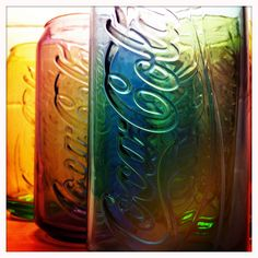 colours of coke by davidcoxon, via Flickr