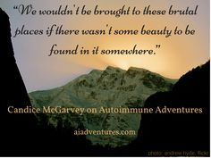 Candice McGarvey shares about coping emotionally with financial fallout due to chronic illness on Autoimmune Adventures. Autoimmune Disease, Chronic Illness, Fallout, Bring It On, Wisdom, Posts, Adventure, Money, Places