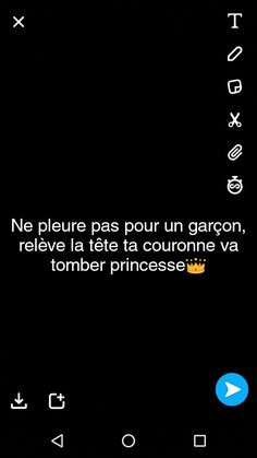 #citation#girl#princesse