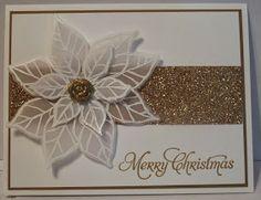 In My Craft Room: Joyful Christmas Vellum Poinsettia Cards