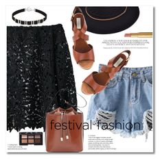 """""""Show Time: Best Festival Trend"""" by svijetlana ❤ liked on Polyvore featuring L'Autre Chose, NARS Cosmetics, Too Faced Cosmetics, festivalfashion and zaful"""