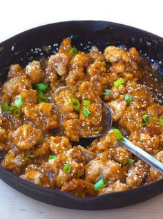 Sticky Sesame Cauliflower – the sweet, sticky, & addictively delicious dish that tastes like a better-for-you version of Panda Express! A few weeks ago, I got a text from a friend saying his sister was trying to add more vegan meals to her diet and asking if I had any good tips. The first advice...Read More »