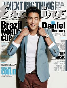 Daniel Henney Covers Esquire Koreas June Issue image Daniel Henney 001