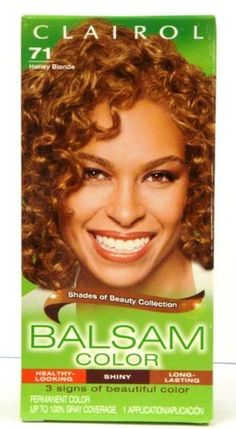 Clairol Balsam Hair Color -71 Honey Blonde (Pack of 2) >>> Want additional info? Click on the image. (This is an Amazon affiliate link)