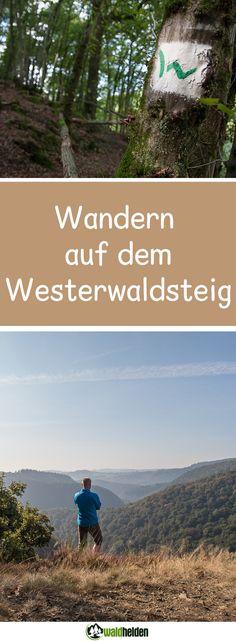 Wandern auf dem Westerwaldsteig. Eine Wanderung durch den schönen Westerwald.