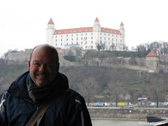 The Bratislava Castle in the background Bratislava Slovakia, Winter Wonderland, Castle, Travel, Viajes, Castles, Destinations, Traveling, Trips