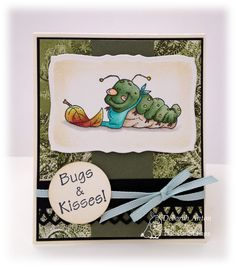 Hambo Stamps Bugs and Kisses!