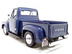 1953 sheridan blue ford truck | 1953 Ford F100 Pickup Dark Blue 1 18 Diecast Model | eBay