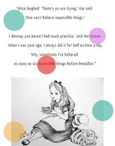 quote from Alice in Wonderland