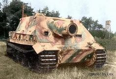 STURMTIGER....about a dozen Tiger tanks sent back for repairs were converted to this siege mortar.