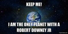 omg, Robert and I are in the same picture!