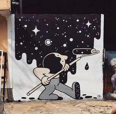 New Street Art by Muretz in São Paulo, Brazil