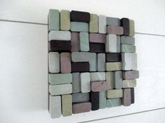 These 7.25 x 7.25 squares are a great way to buy art! You can either buy one piece to add a pop of color to a small space, or you can purchase multiple pieces to cover more area. You can either hang the pieces touching, to make the appearance of 1 large piece of art, or you can hang them with space in between to give a cool look and cover a larger area. If you ever wish to move them to a new space, the options are nearly endless to reconfigure the squares!  Each piece consists of 50 - 1 x 2…