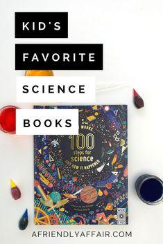 kids science books,