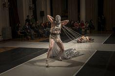Encuentro Coreográfico Sala Arrau - Temporada II. Daniel Bagnara / Cuerpo- material. Foto: Patricio Melo
