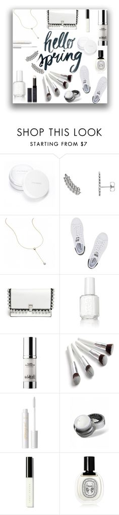 """""""White out for Spring"""" by mlgjewelry on Polyvore featuring beauty, rms beauty, Wish by Amanda Rose, adidas Originals, Proenza Schouler, Essie, tarte, Bobbi Brown Cosmetics, Diptyque and Surratt"""