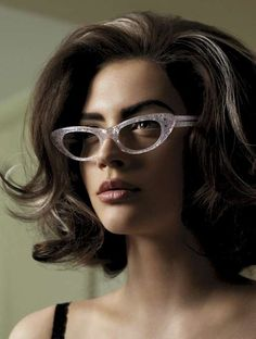 love the hair and '60s shades