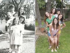 "Recreating Old Family Photos-- what a fabulous gift idea for that family member who ""has everything""!"