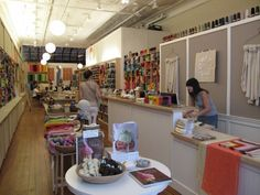 Obsessed w. Purl Soho. Sweetest fabric/knitting store!
