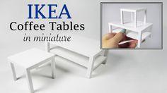 DIY Miniature- IKEA Coffee Tables Tutorial