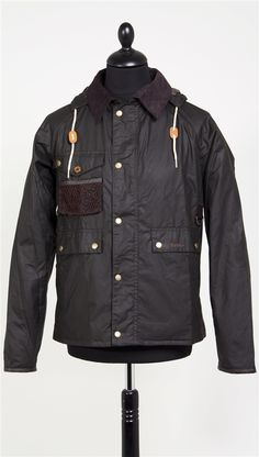 Barbour Fishing Standen Jacket: Olive